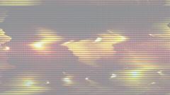 Lights loop signal Abstract VJ lights loop signal  Stock Footage