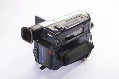 Old camcorder Stock Photos