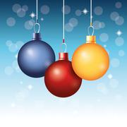 Decoration icon. Merry Crhsitmas. vector graphic Stock Illustration