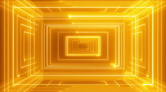 Abstract line motion music background LOOP Orange Stock Footage