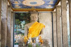 Temple at Angkor Wat, Siem Reap, Cambodia Stock Photos