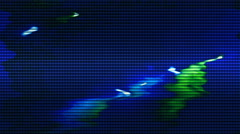VJ lights loop signal  Stock Footage