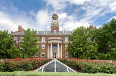 Joseph Wylie Fincher Building on the Campus of Southern Methodist University Stock Photos