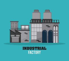 Industry design vector Stock Illustration