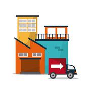 Industry design vector - stock illustration