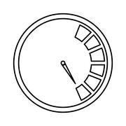 Gauge icon. Measurement design. vector graphic Stock Illustration