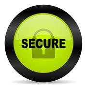 Secure icon Stock Illustration