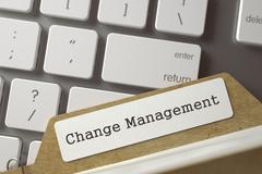 Index Card  Change Management Stock Illustration