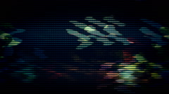 TV Failure Abstract Lights background Television - stock footage