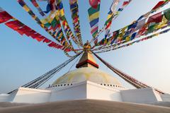 Stupa of Bodnath Stock Photos