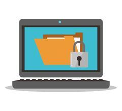 Cyber Security design Stock Illustration