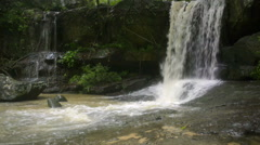 Kbal spean Unesco world heritage site dolly Stock Footage