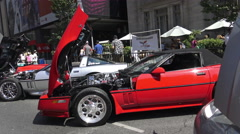 The Exotic Car Show at Bloor-Yorkville, Toronto June 2016 Arkistovideo