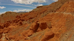 Little Egypt Geological Site Utah Henry Mountains Stock Footage