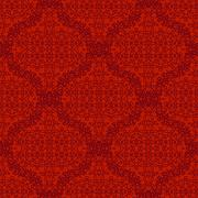 Seamless Texture on Red. Element for Design - stock illustration