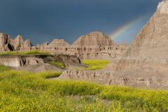Badlands National Park, South Dakota, USA Stock Photos