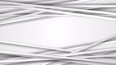 Abstract grey corporate striped video animation Stock Footage