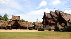 Thailand Temple Wat Ton Kain Stock Footage
