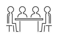 Business partner people icon symbol success team vector Stock Illustration