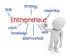 Entrepreneur Stock Illustration