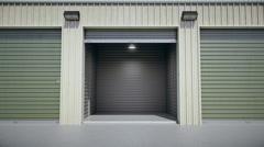 Self Storage Unit Stock Footage