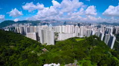 Aerial Hong Kong Wide Shot 4K. Arkistovideo