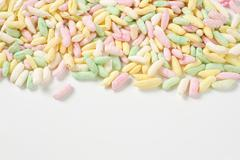 Colored puffed rice Stock Photos