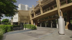 Greenbelt Entrance at Makati Avenue Stock Footage