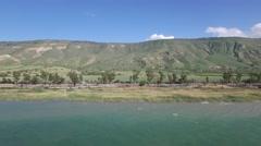Sea of Galilee - Lake Kinneret West coast  Stock Footage