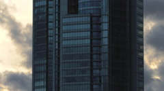 Skyscraper Building / Corporate Building / Clouds and Sky Arkistovideo