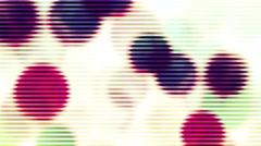 Bokeh Falling Strobbing Loop Background Animation Stock Footage