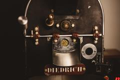 Coffee roaster, still life - stock photo