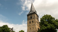 Grote Kerk (Great Church), Enschede, Netherlands - stock footage