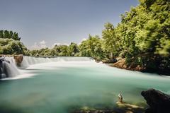 Manavgat waterfall, Antalya,Turkey Stock Photos