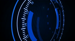 Fingerprint scanning technology. - stock footage