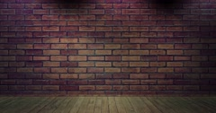 Simple Brick News Background Loop Stock Footage