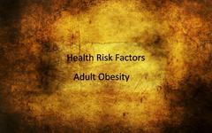 Adult obesity grunge concept Stock Photos