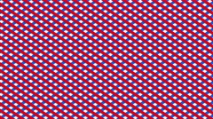 abstract threaded texture modern geometric motion background red white blue - stock footage