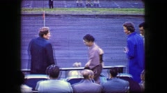 1944: Japanese woman bowing shaking caucasian woman hand awkwardly. Stock Footage
