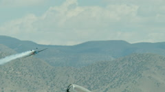 Edge 540 Flying Upside Down Aerobatics Stock Footage