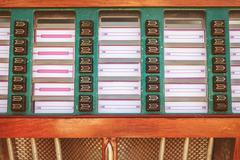 Retro styled image of an old jukebox Kuvituskuvat