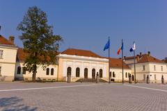 Union Hall building in Alba Iulia Romania Stock Photos