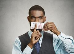 Bribery concept Stock Photos