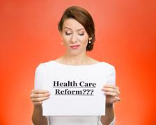 Health care reform? - stock photo