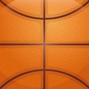 Ball background  icon. Basketball design. Vector graphic Stock Illustration