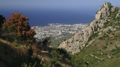 MEDITERRANEAN SEA KYRENIA NORTHERN CYPRUS Stock Footage