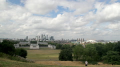 DOCKLANDS O2 NATIONAL MARITIME GREENWICH LONDON Stock Footage