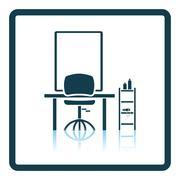 Barbershop icon Stock Illustration