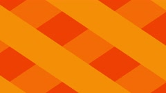 Square motion background loop orange Stock Footage