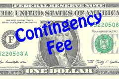 Contingency Fee business concept Stock Illustration